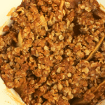 We've taken our Grandma's Famous Apple Crisp and portioned it perfectly for one. This Easy Apple Crisp for One takes the guilt and temptation out of eating more than you should.