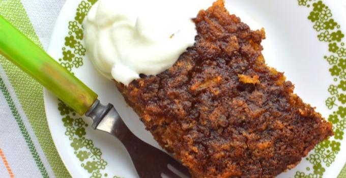 Old Fashioned Apple Pudding Cake