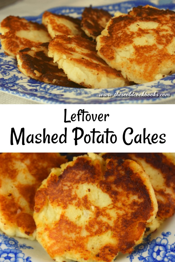 Leftover Mashed Potato Pancakes are a great side dish option.
