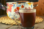 Hot Cranberry punch is a non alcoholic hot punch recipe that blends cranberry, apple and orange juices with fall spices for the perfect holiday beverage.