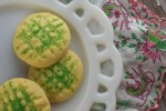The dough for these French Buttercream Cookies can be tinted to make them extra festive for any occasion and be sure to add colored sugar crystals on top.