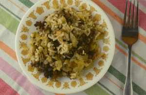 Savory Sausage Rice Casserole is a simple recipe from the past. With kid-friendly ingredients including pork sausage and white rice, you'll have a meal the whole family will enjoy.
