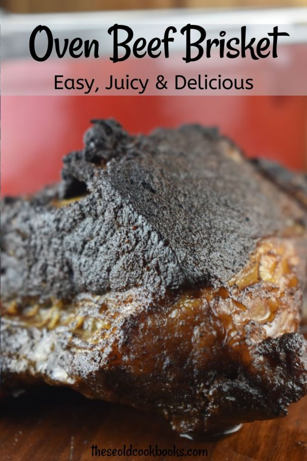 Classic Beef Brisket includes an easy brisket rub recipe and a slow cooked oven method.  The result is a juicy, tender, melt-in-your-mouth meal that you will fall in love with and continue to make time and time again.