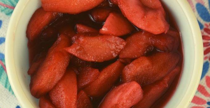 Cinnamon Stewed Apples