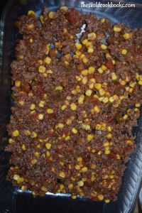 My kids absolutely go wild for Mexican Lasagna. A mixture of ground beef, corn and salsa is layered between corn tortillas and cottage cheese making for an easy casserole that feeds a crowd.