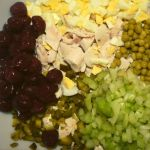 This Fancy Chicken Salad is extra special with a touch of crunch from pecans, sweet pickles and celery and a hint of sweetness from canned cherries. The ingredients are surprising, and the flavor is delicious.