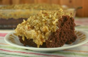 "Granny's German Chocolate Cake Icing is an old fashioned, withstand the test of time type of recipe.  The homemade frosting is made on the stove-top and is truly the ""icing"" on the cake."