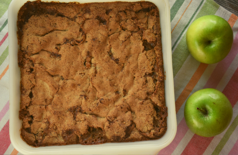 Apple Nut Crunch is the perfect fall dessert when you are short on time and ingredients---it only uses one medium apple. This crunchy baked apple dessert is served warm topped with ice cream or whipped cream.