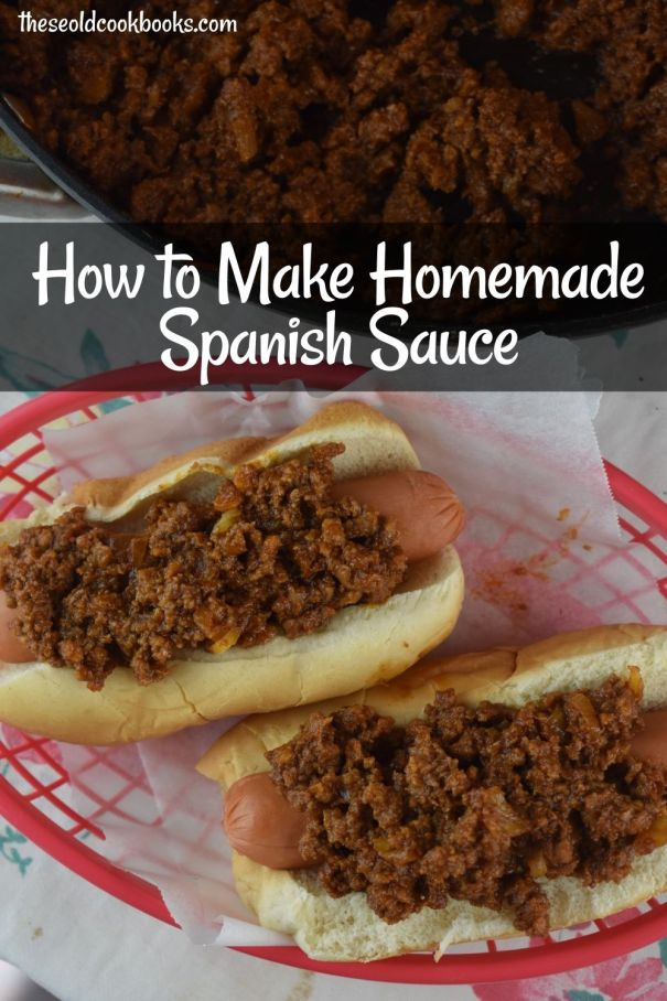 Whether you call it Coney sauce, chili sauce or Spanish Hot Dog Sauce, it's a cult favorite that takes you right back to your childhood. This restaurant-style hot dog sauce has the perfect amount of spice to top off your favorite dog!