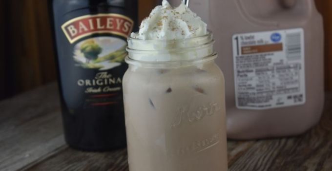 Chocolate Baileys Drink – 2 Ingredient Baileys Recipe
