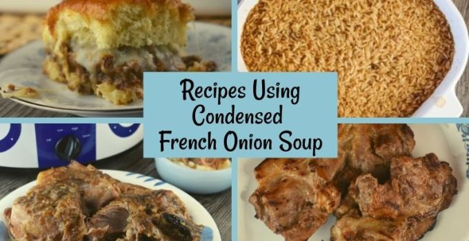 What to Make with Canned French Onion Soup