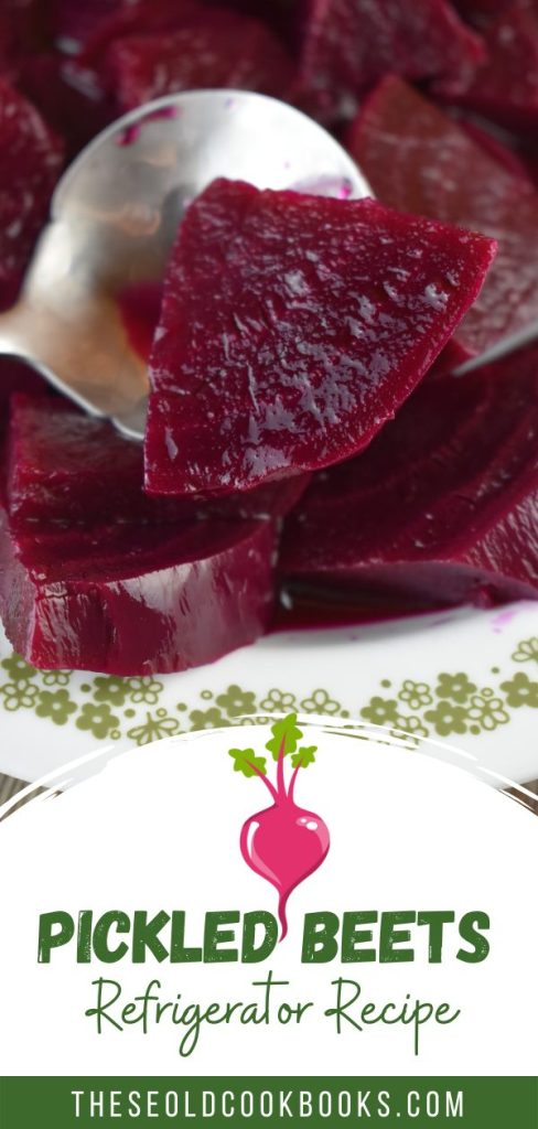 Try Grandma's Old Fashioned Pickled Beets Recipe. This is a small batch pickled beets recipe made for the refrigerator. Make these once, and they are sure to be in your summer rotation of garden vegetable recipes.