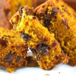 Grandma's Pumpkin Bread is a moist pumpkin bread recipe that can be made plain, with nuts, raisins or chocolate chips. This easy to follow recipe gives options for one pumpkin loaf or two depending on whether or not you want to use an entire can of pumpkin.