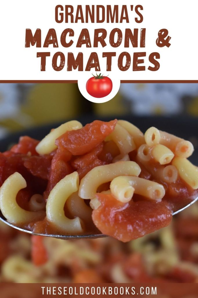 Old Fashioned Macaroni and Tomatoes takes you back to your childhood. With a just a few simple ingredients such as canned tomatoes, elbow macaroni, sugar, salt and butter, you can recreate Grandma's Macaroni with Tomatoes Recipe.