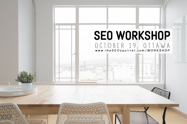 Ottawa SEO Workshop – Small Business Education