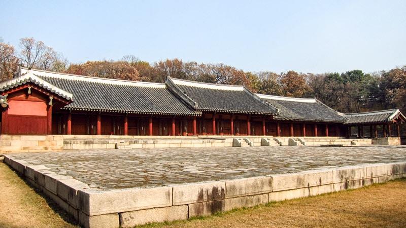 Image result for Jongmyo Shrine