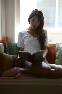 Shy Korean Girl