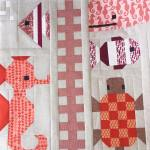 And finally the red phase and some more orange awesomeoceanquilt