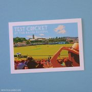 Test cricket at the Basin Reserve