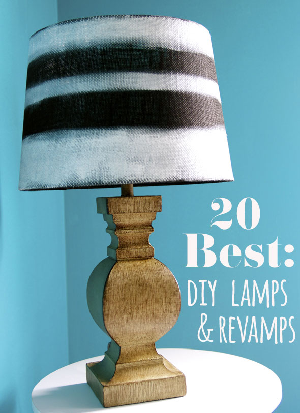 DIY Lamp Amp Makeover Ideas