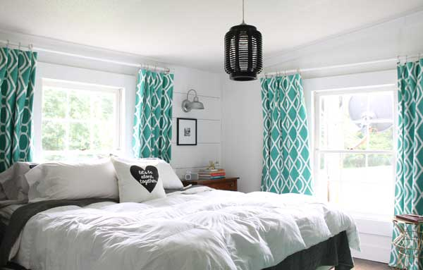 Quirky, Modern, Farmhouse Style Master Bedroom on Master Bedroom Farmhouse Bedroom Images  id=55547