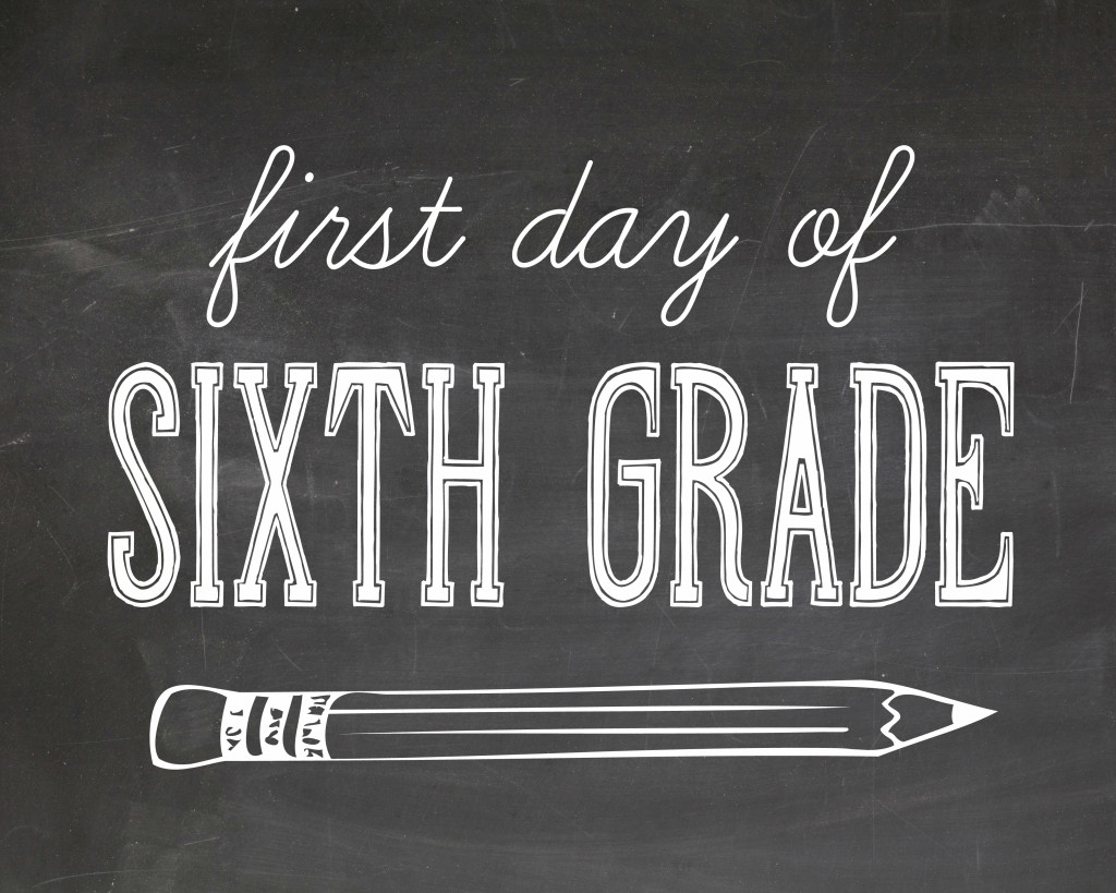 First Day Of School Printables For Kids Pictures