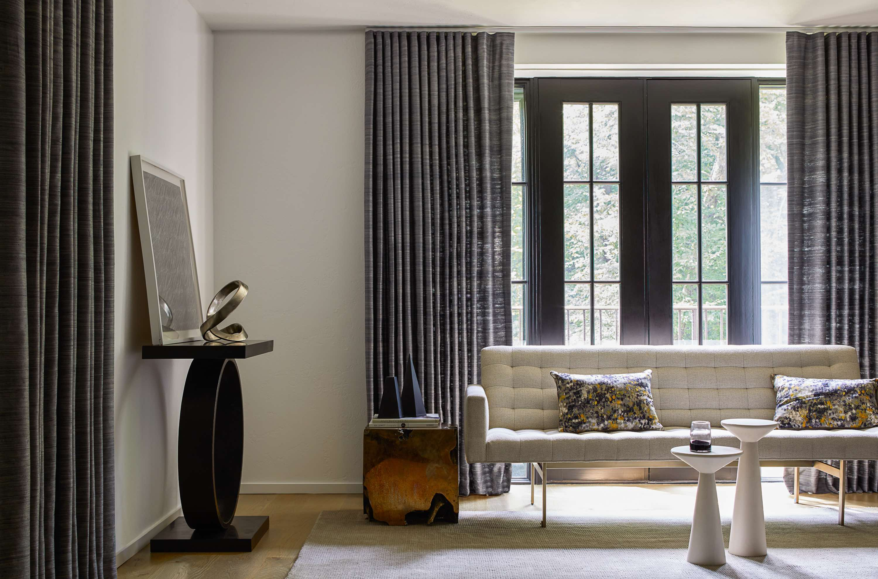 how to install curtain and drapery rods