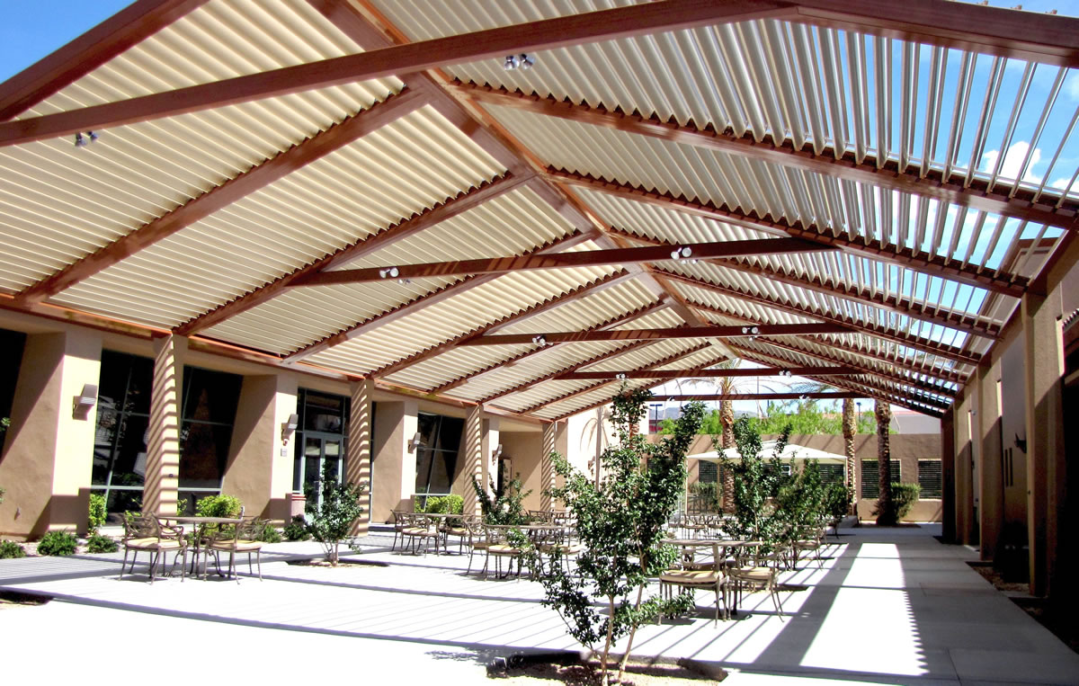 dallas patio covers louvered roofs