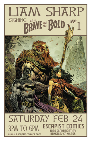Liam SHarp Brave and the Bold