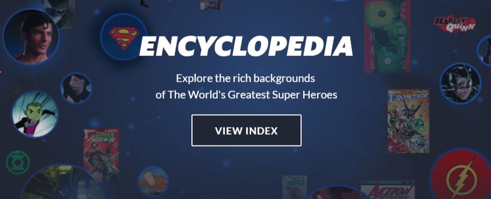 DC Universe Subscription Encyclopedia