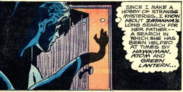 Zatanna's Search Elongated Man