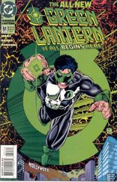 Green Lantern 51: Kyle Rayner 1st Appearance