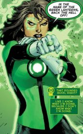 Green Lanterns #1: Jessica Cruz