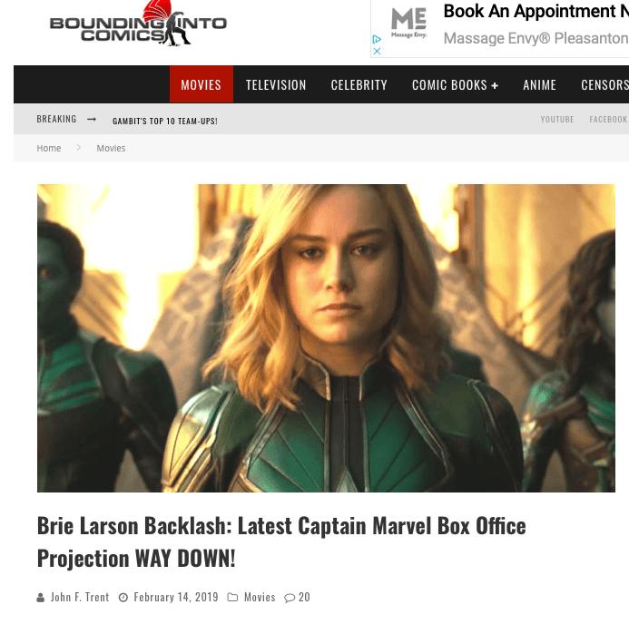 Bounding Into Comics on Captain Marvel