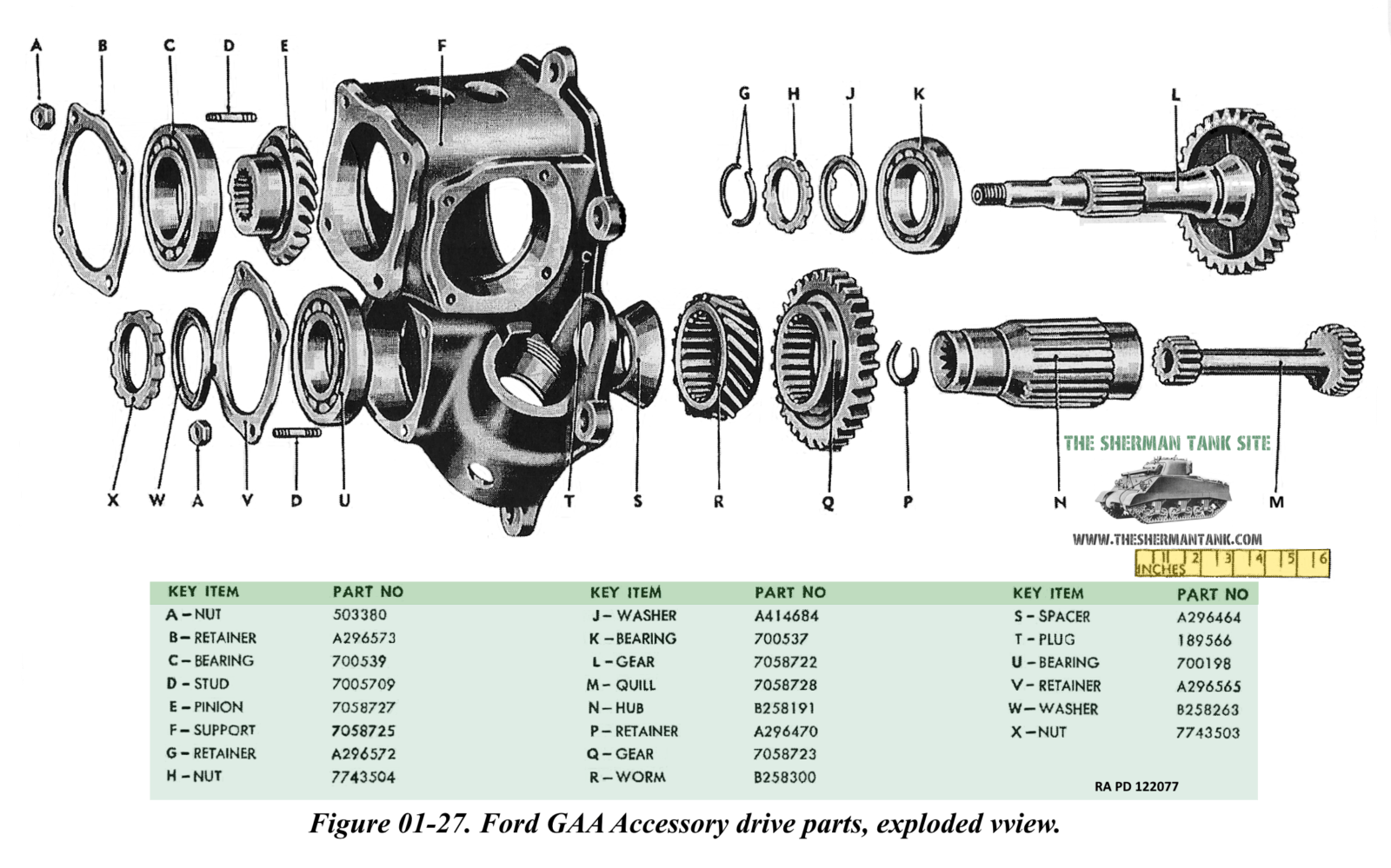 The Ford Gaa Data Page More Info And Technical Drawings