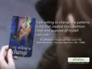 tmj treatments therapy louise hay affirmation