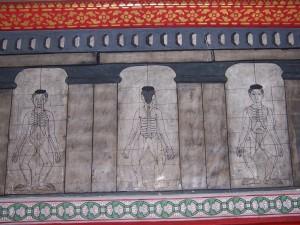 Wat Pho - Thai Yoga Massage - Sen Lines
