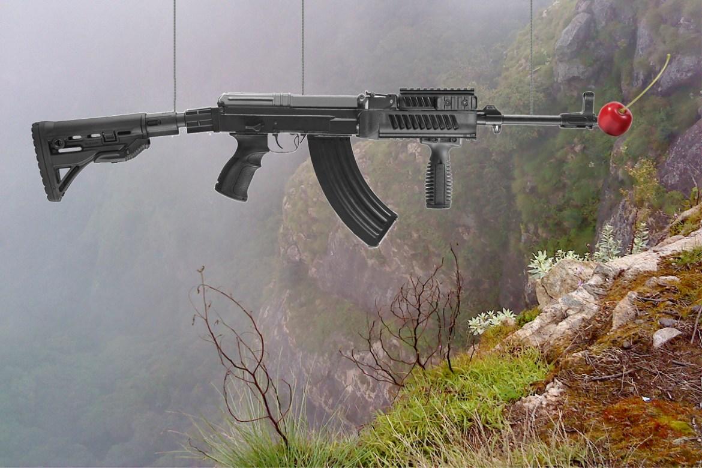 Fruity Muzzles Make Gun Suicide More Appetising