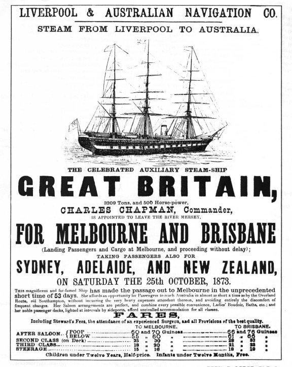 voyage advertisement