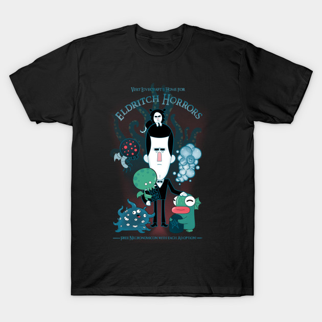 Lovecrafts Unspeakable Home T Shirt The Shirt List