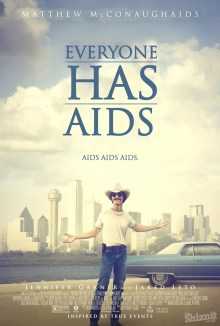 The Shiznit's spoof poster for Dallas Buyers Club