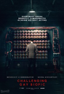 The Shiznit's honest poster for Oscar nominee The Imitation Game