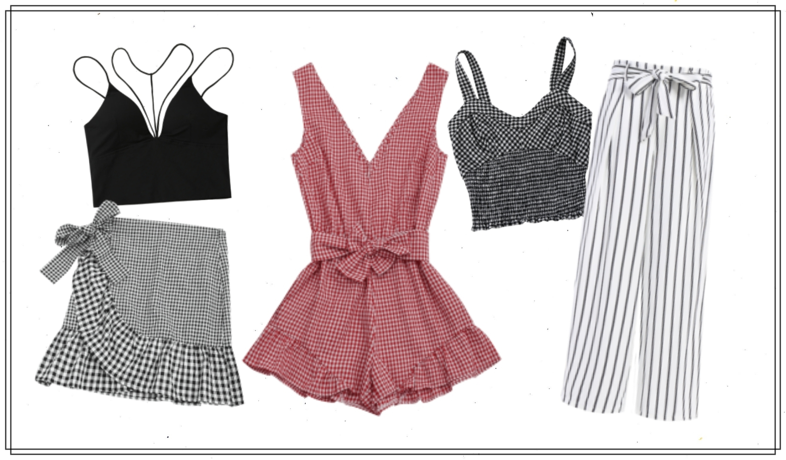 [tips] 3 ways to wear gingham or check patterns