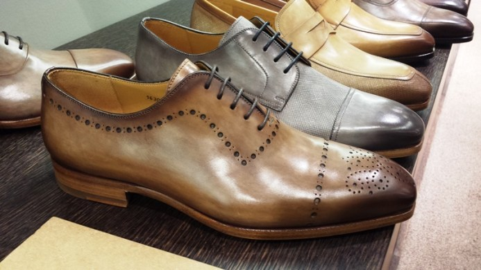 Magnanni Shoes, Blake-stitched