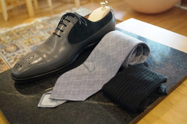 J.FitzPatrick Grey oxfords 4