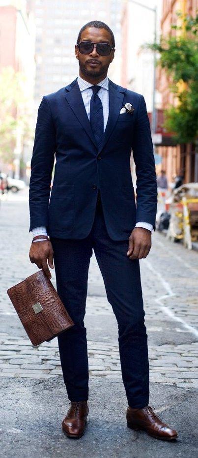 Shoe Color vs. Suit Color – The Shoe Snob Blog