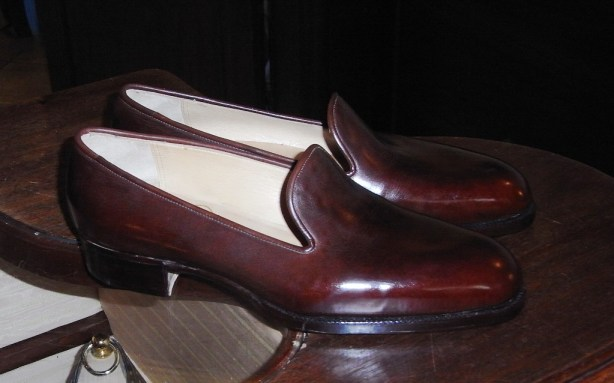 Bespoke Wholecut loafer