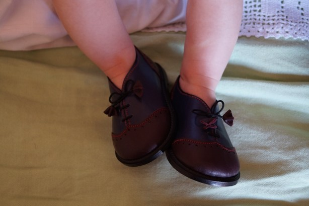 Handmade baby shoes The Baby Shoemaker