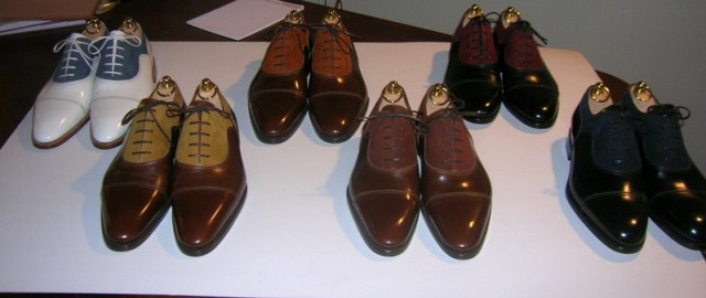 Stefano Bemer two tone oxfords