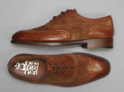 Barker Black Spectator-Brown-Brown-on-Grey_21
